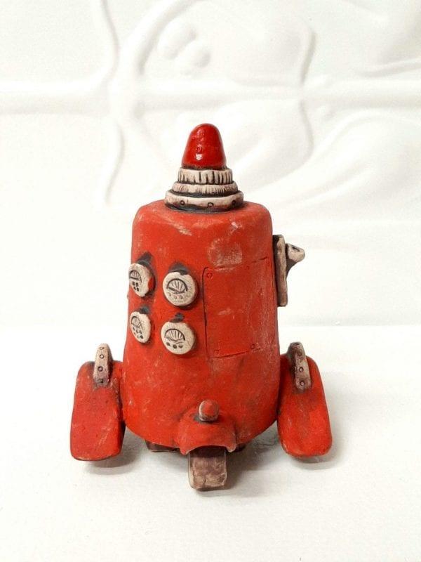 Hot sauce Robot sculpture